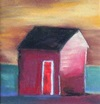 Red house painting