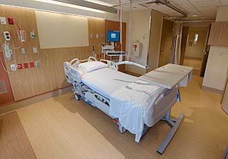 South Wing Patient Bed