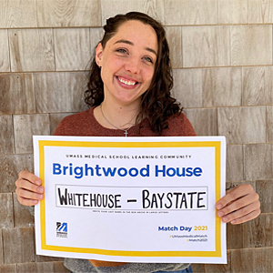 PURCH Student Amanda Whitehouse Matches to UMMS-Baystate