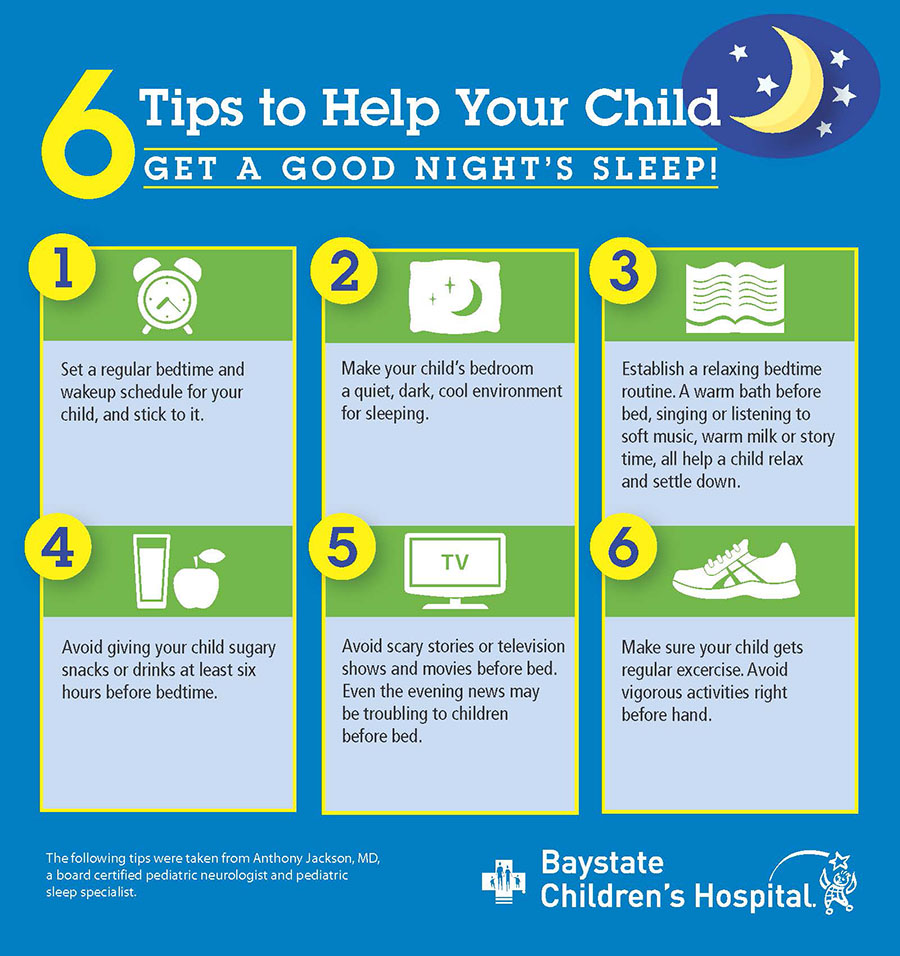 pediatric sleep infographic