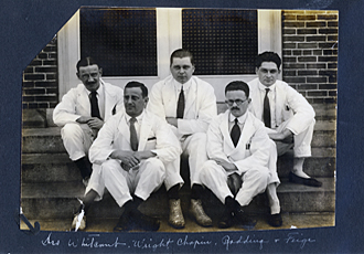 Baystate Medical Center (Springfield Hospital) Interns Early 1900s